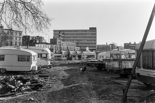 Traveller camp, Kentish Town Rd, Camden 86-12g-42_2400