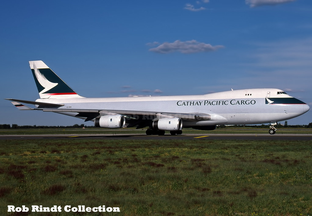 Cathay Pacific Cargo B747-467F/SCD B-HUH