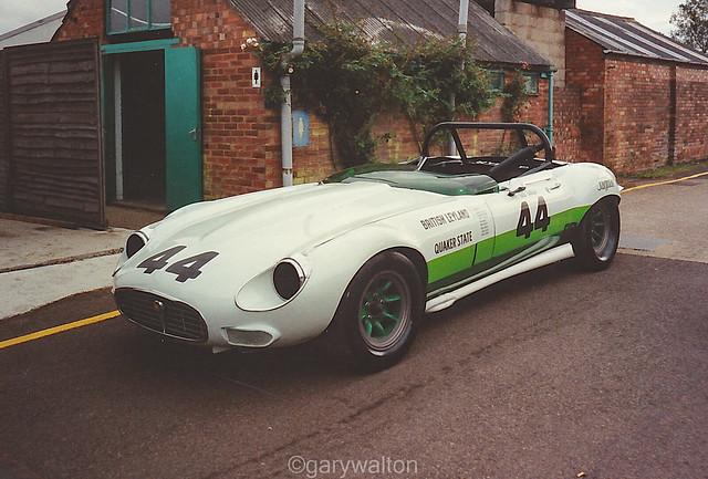 Group 44 Jaguar E-Type - Silverstone 1990