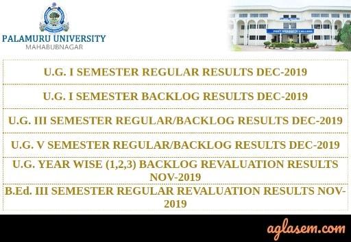 Palauru University Result list