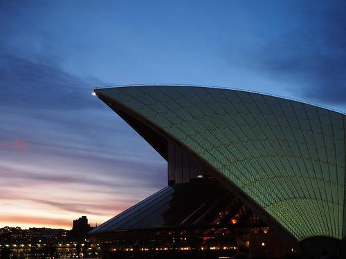 sunset sydney opera hose arts city urban dusk australia dome geometry curves curve architecture