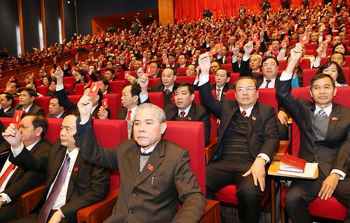 Đại hội Đảng toàn quốc lần thứ XII: Lễ bế mạc Đại hội đại biểu toàn quốc lần thứ XII Đảng Cộng sản Việt Nam
