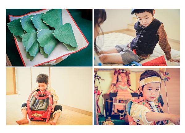 家族写真 小学校入学&端午の節句記念