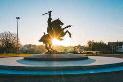 Freedom Warrior - Vytis | Kaunas aerial