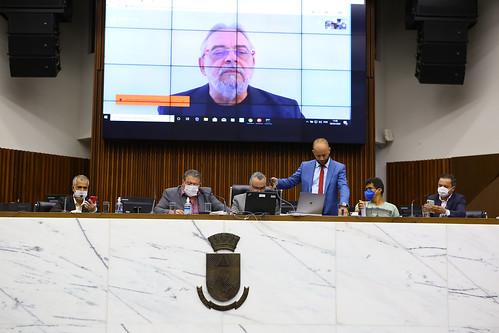 Reunião Especial com o Secretário Municipal de Saúde, Jackson Machado Pinto.