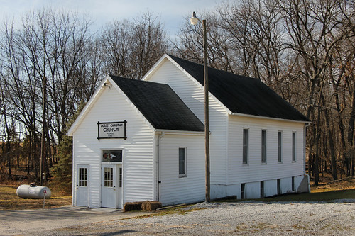Dorsey Christian Church - rural Albany, MO | by The Bouncing Czech