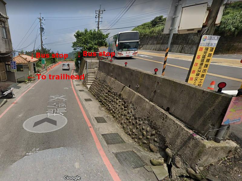 25 Bus stops at Geding in Reifang, Taiwan