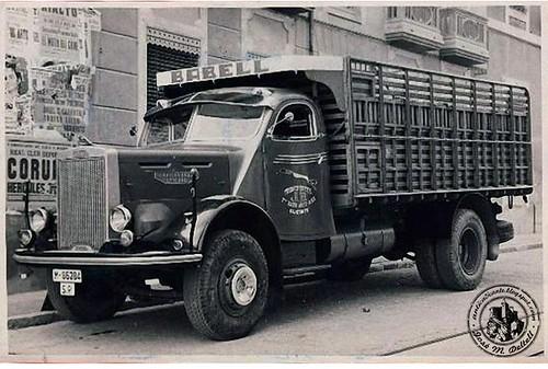 Camion Leyland amb cabina construïda per Gozalbo