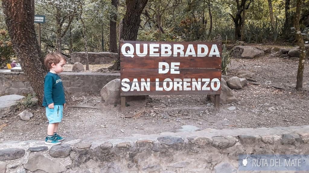 Quebrada de San Lorenzo, uno de los lugares que ver en los alrededores de Salta