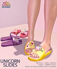 [Sheba] Unicorn Slides