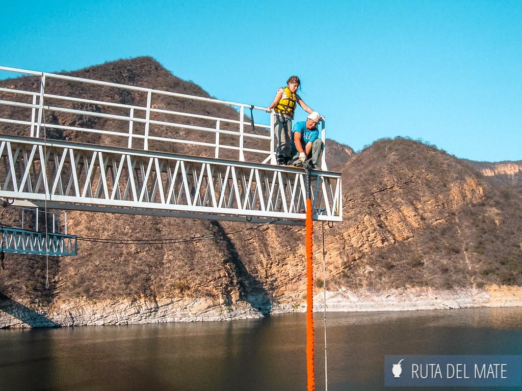 Bungee Jumping en el Dique Cabra Corral, Que ver en los alrededores de Salta