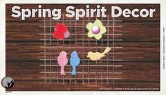 New release -Hunt Prize : Spring Spirit Decor