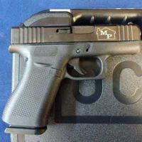 Engrave side of Glock