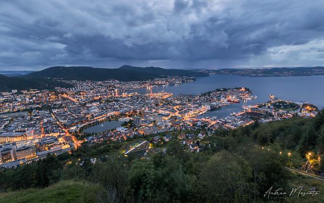Fløyfjellet Viewpoint - Bergen (Norway)