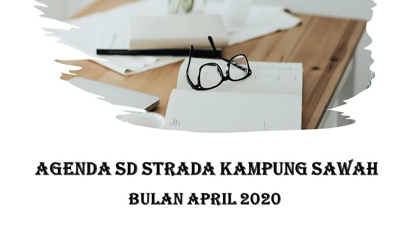 AGENDA BULAN APRIL 2020