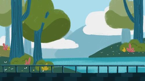 Outdoor Scene (Illustration)