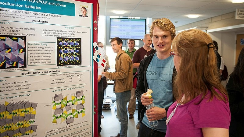 Tell us about your materials research