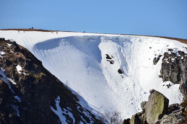 ...sur la crête  -  ...on the ridge