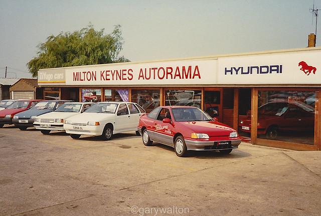 Hyundais and Yugos - Milton Keynes Autorama 1990