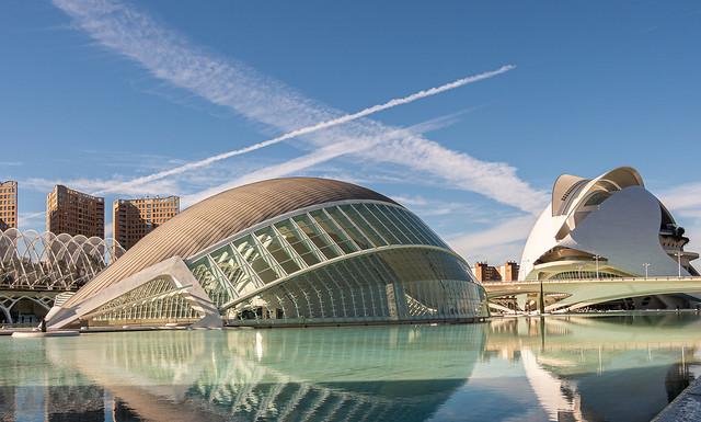 Modern Valencian Architecture (L'Hemisferic &  Palau de les Arts Reina Sofia (Opera House) Valencia (Olympus OM-D EM5.2 & M.Zuiko 12-100mm F4) (1 of 1)