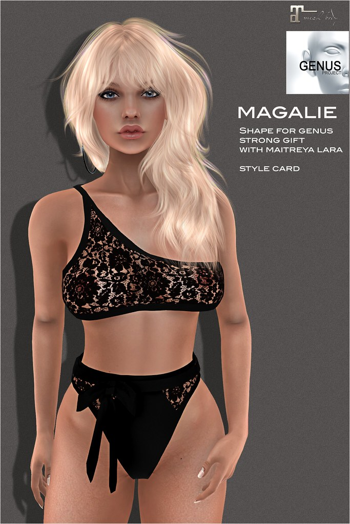 [Selene Creations] Magalie Shape for Genus Strong Gift head