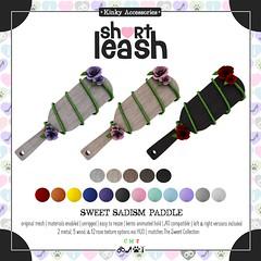 .:Short Leash:. Sweet Sadism Paddle