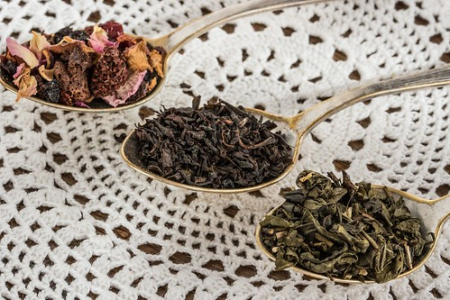 Dried tea leaves. Tea Tasting 101. From Stuff Every Tea Lover Should Know