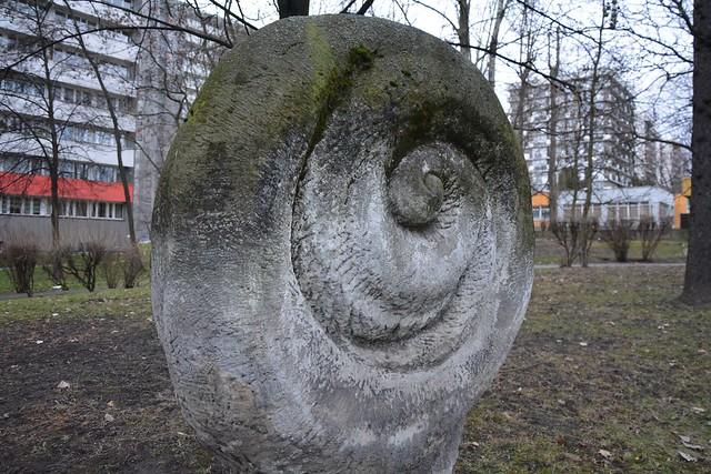 Rzeźba plenerowa nr 5 - Oś. Tysiąclecia