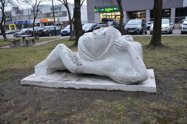 Rzeźba plenerowa nr 6 - Oś. Tysiąclecia