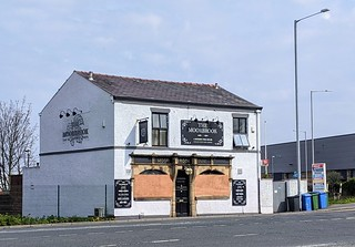 Boarded up Moorbrook pub in Preston | by Tony Worrall
