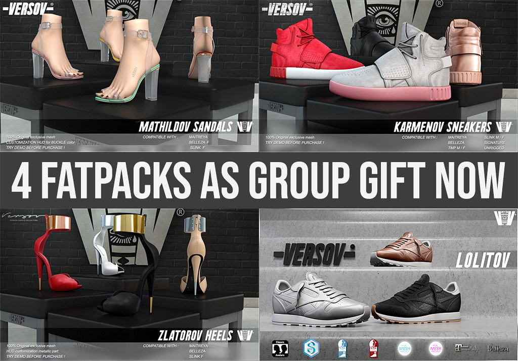 [ Versov // ] NEW GROUP GIFTS AVAILABLE AT OUR MAINSTORE!