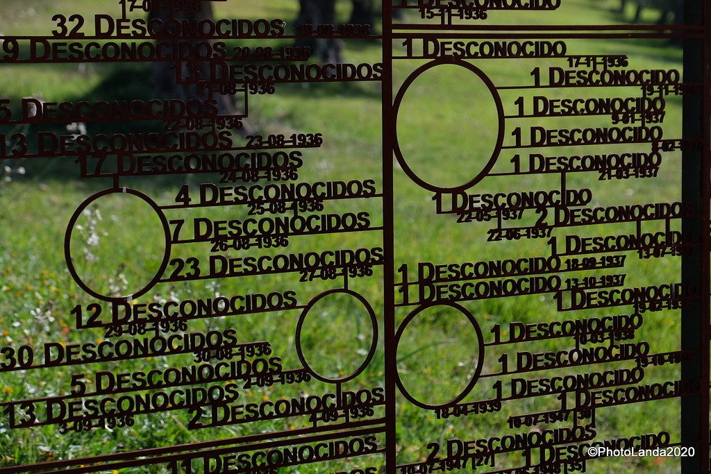 Lugar de la Memoria Histórica: Tapias del Cementerio de Granada