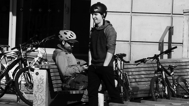 The Cyclist's Rest Spot