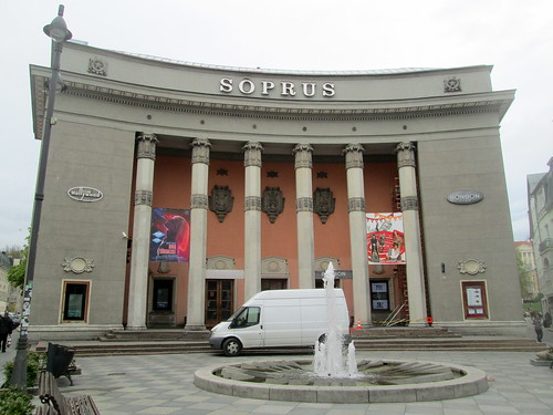 Soprus Entrance, plus Fountain, Tallinn