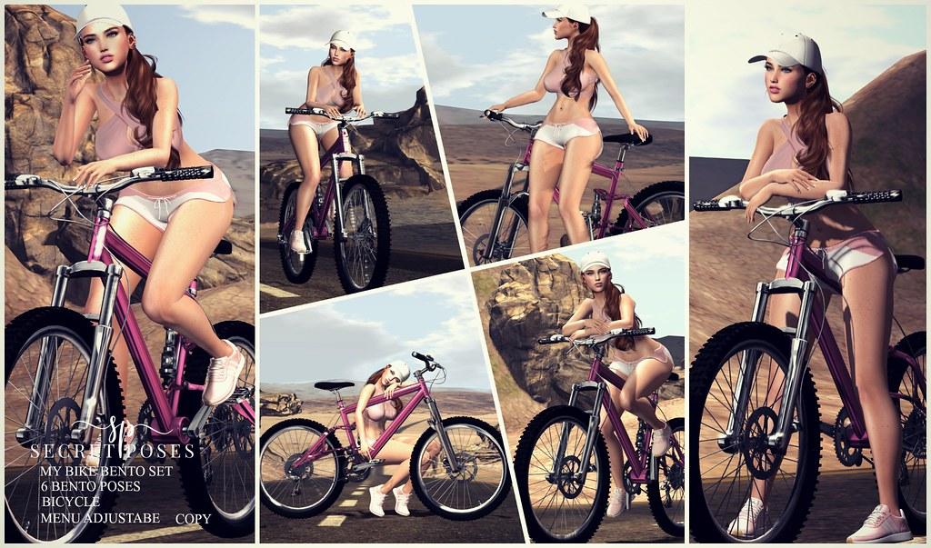 Secret Poses – My Bike @ Ebento