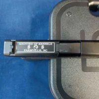 Engrave Top of Glock