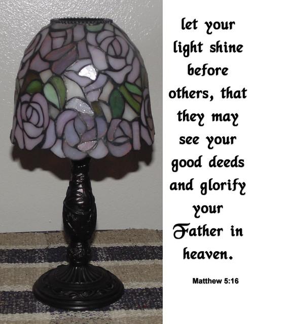 Candle Lamp Matthew 5:16
