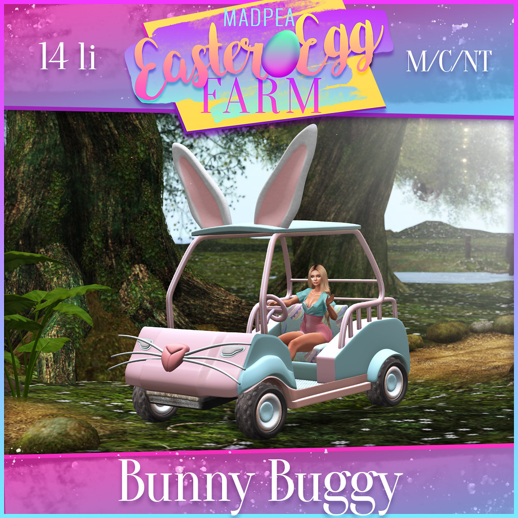 MadPea Easter Egg Farm Prize: Bunny Buggy!