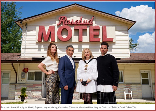 The Rosebud Motel Schitt's Creek (Pop TV) April 2020 | by Ron Cogswell