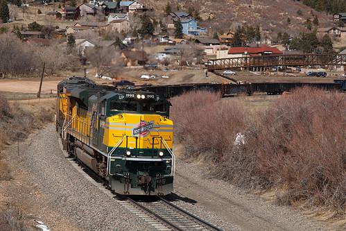up unionpacific up1995 cnw chicagonorthwestern emd sd70ace palmerlake colorado jointline mnypu heritage heritageunit train railroad
