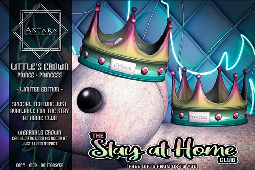 Astara - Little's Crown Stay at Home Club