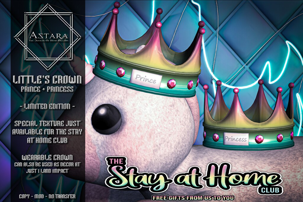 Astara – Little's Crown Stay at Home Club