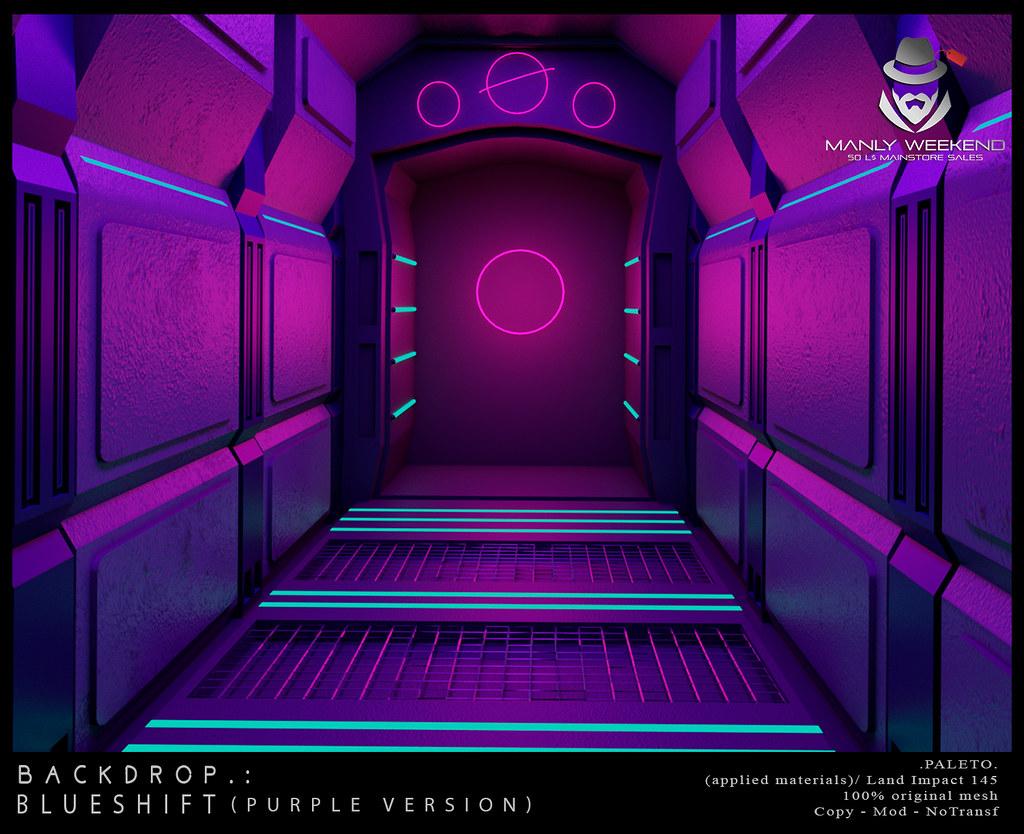 .PALETO. Backdrop :. Blueshift purple version