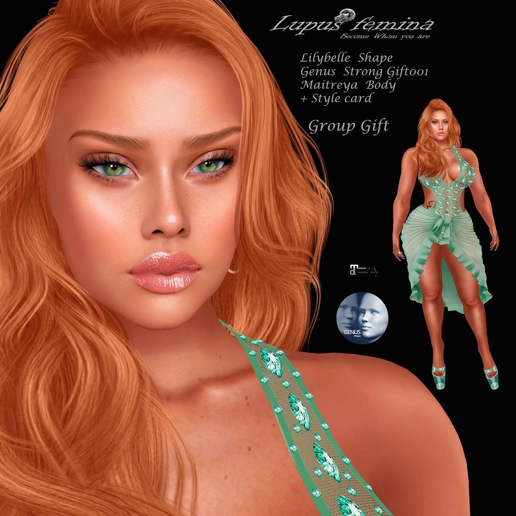 """""""Lupus Femina"""" Lilybelle Shape – Group gift"""