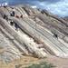 Estrías en plano de falla plegado - Sacsayhuamán (Perú) - 02