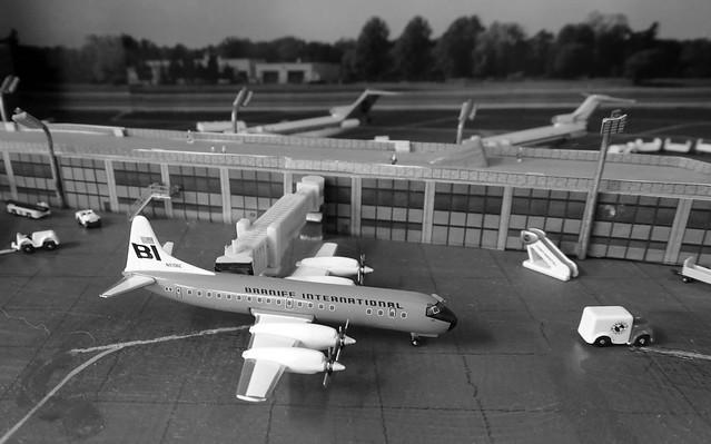 Western USA c.1969 - Braniff Lockheed Electra