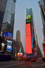 One Times Square Ball & 2019 New Billboard Screens Manhattan New York City NY P00493 DSC_1884