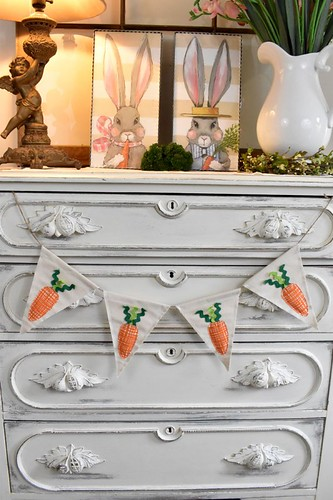 DIY Easter Carrot Banner