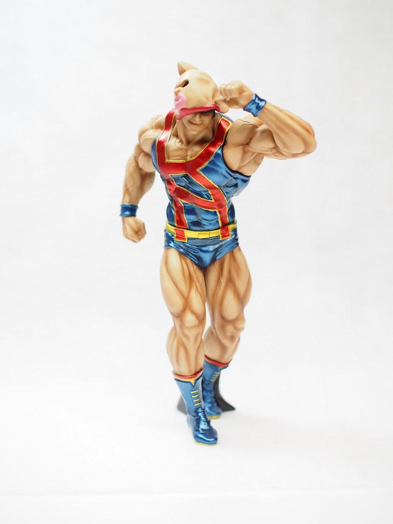 金肉王族認證!CCP Muscular Collection《金肉人》NO.EX「金肉人 顏面閃光」PVC塗裝完成品(キン肉マン フェイスフラッシュ)【再販】
