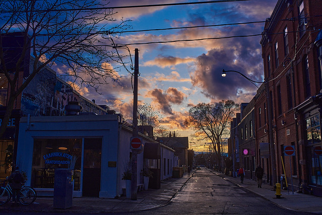 Ossington Sunsets